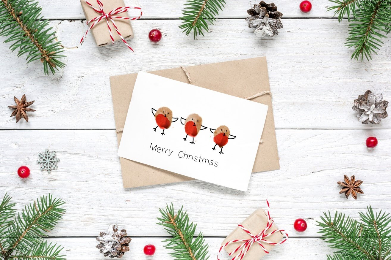 Easy Christmas Cards Designs.Easy Christmas Craft Ideas For Kids Wiltshire Farm Foods