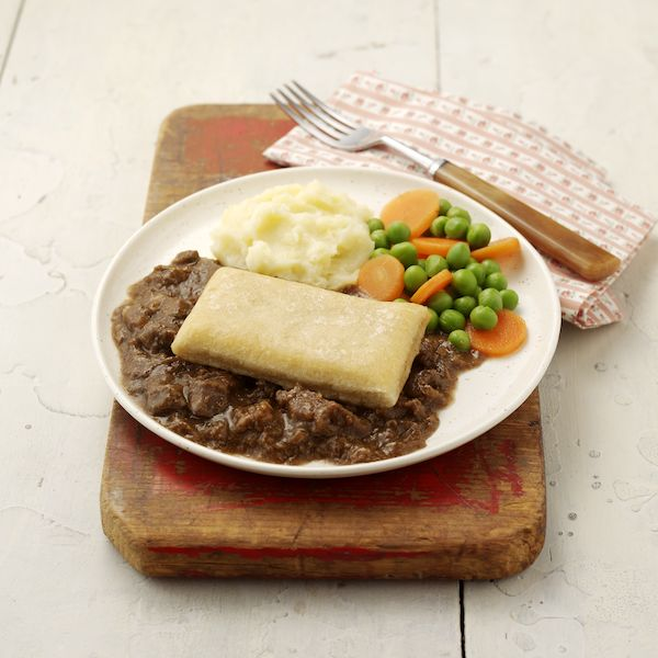 Steak & Kidney Pie Mini Meal