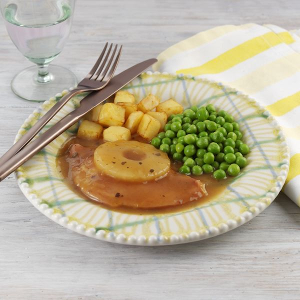 Gammon with Pineapple Mini Meal