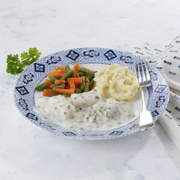 Fish in Parsley Sauce Mini Meal