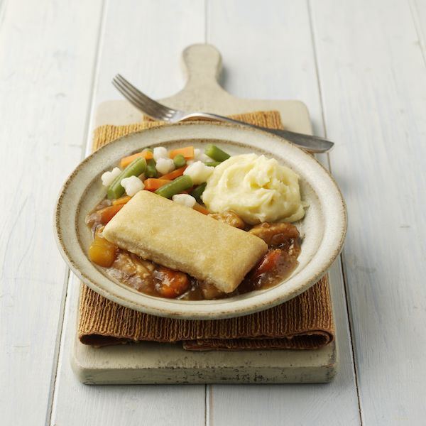 Chicken & Vegetable Pie Mini Meal