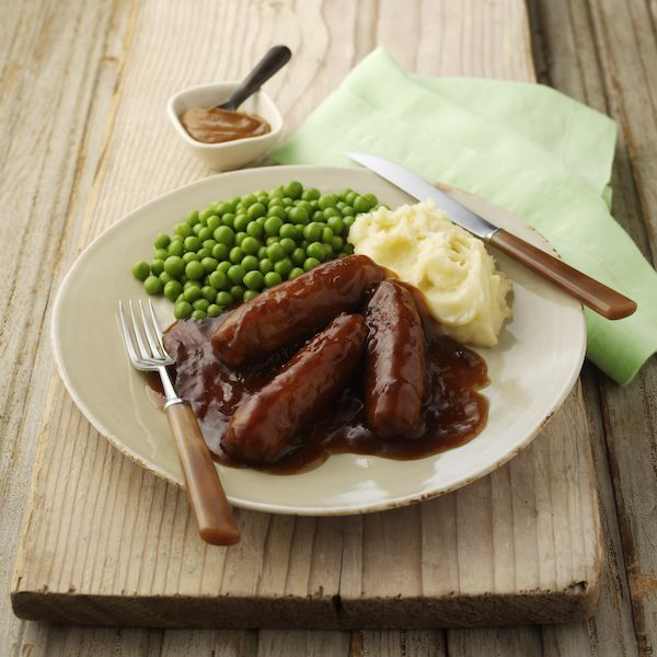 Hearty Sausages & Mash