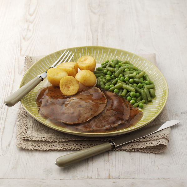 Free From Roast Lamb in Gravy