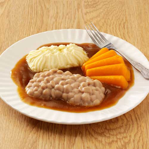 Puree Classic Sausages in Gravy
