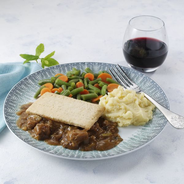 Minted Lamb Pie