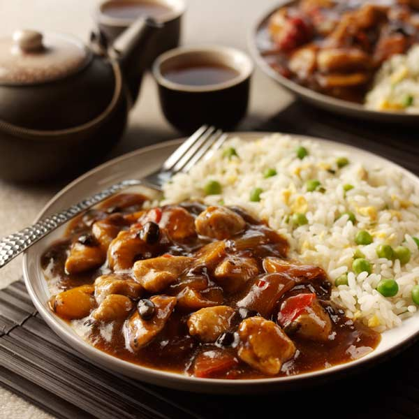 Chicken in Black Bean Sauce For Two