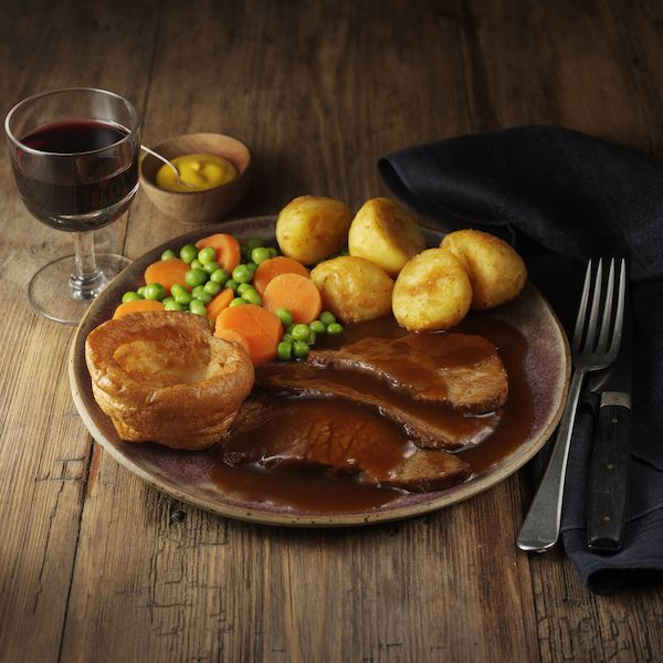 Roast Beef & Yorkshire Pudding (Oven Cook Only)
