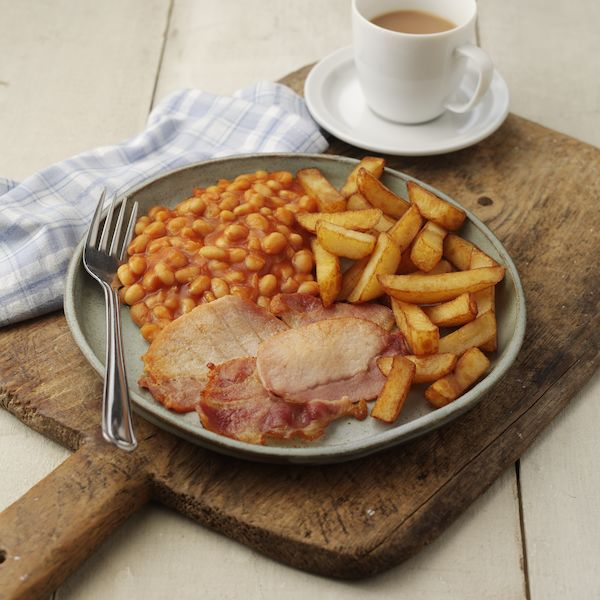 Bacon, Chips & Beans