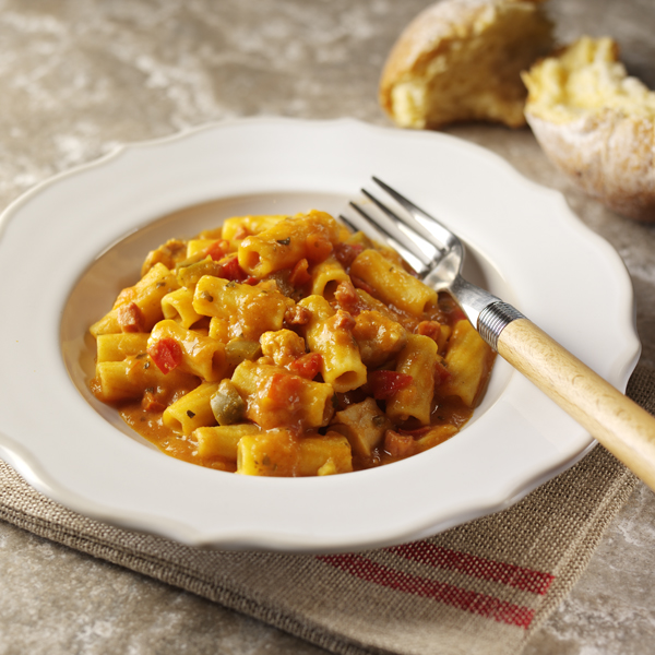Rigatoni with Chicken & Chorizo
