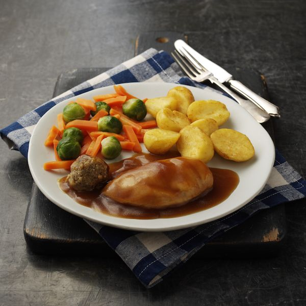 Hearty Roast Chicken