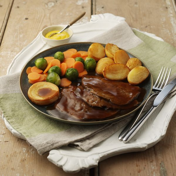 Hearty Roast Beef & Yorkshire Pudding