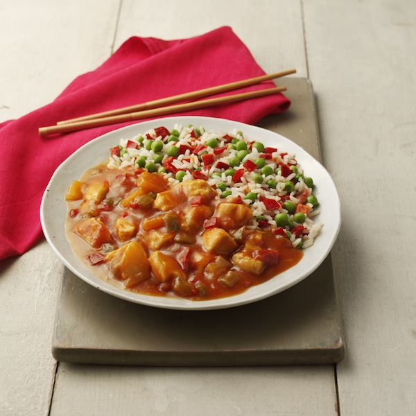 Hearty Sweet & Sour Chicken