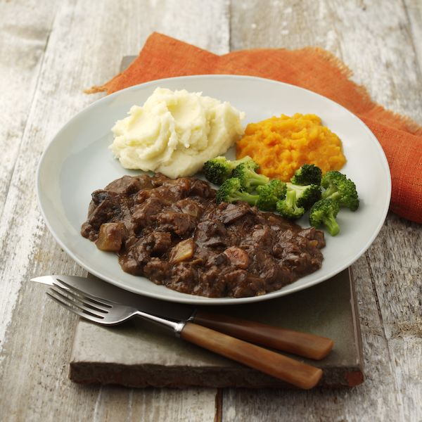 Hearty Steak & Mushroom Casserole