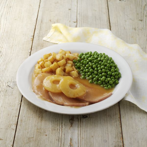 Hearty Gammon with Pineapple