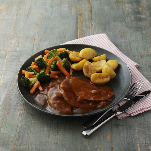 Hearty Roast Pork in Apple & Cider Gravy