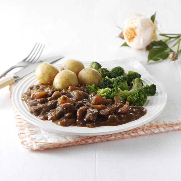 Slow Cooked Beef with Onions & Dorset Ale