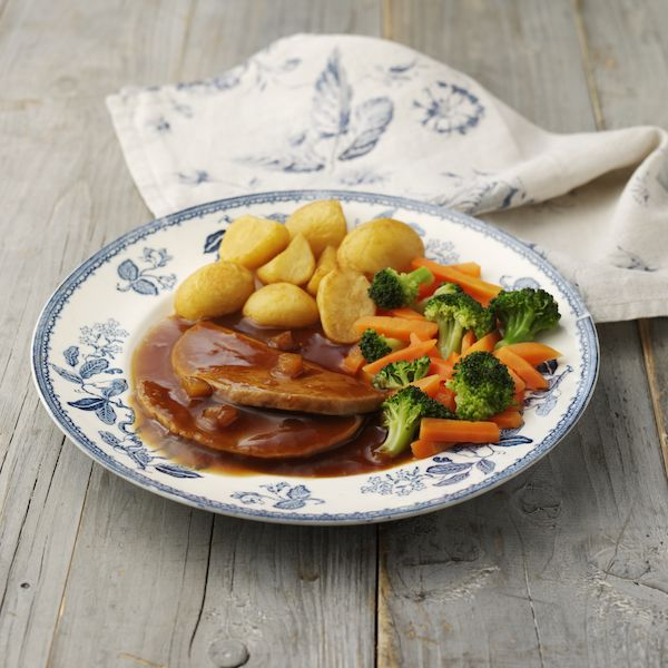 Roast Pork in Apple and Cider Gravy