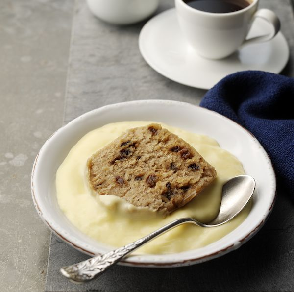 Spotted Dick & Custard